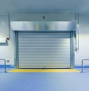 High Speed Door RR3000_1 in warehouse