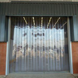 Strip Curtains & PVC Materials