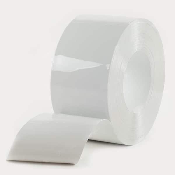 Opaque White Flat PVC Bulk Rolls