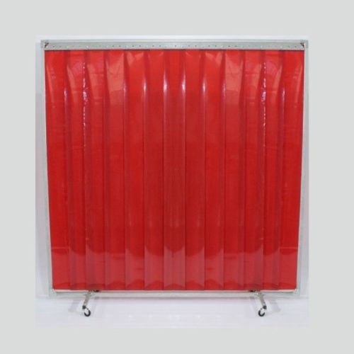 Welding Red PVC Protection Screen