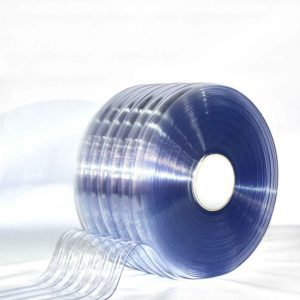 Polar Ribbed Clear PVC Bulk Rolls