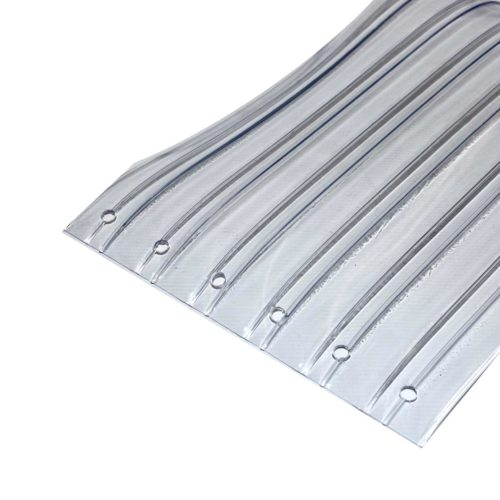 Standard Ribbed Clear PVC Replacement Strips