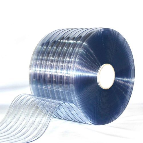 Standard Ribbed Clear PVC Bulk Rolls