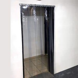 Standard Flat Clear PVC Strip Curtain Kit